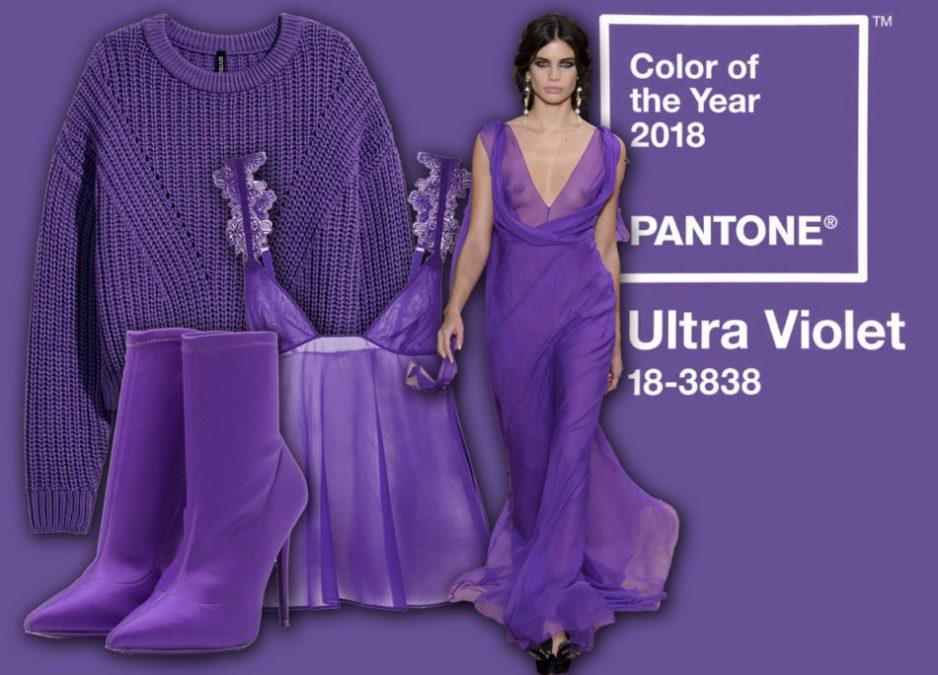 L'Ultra Violet è il colore del 2018: prepariamoci a vestire di viola